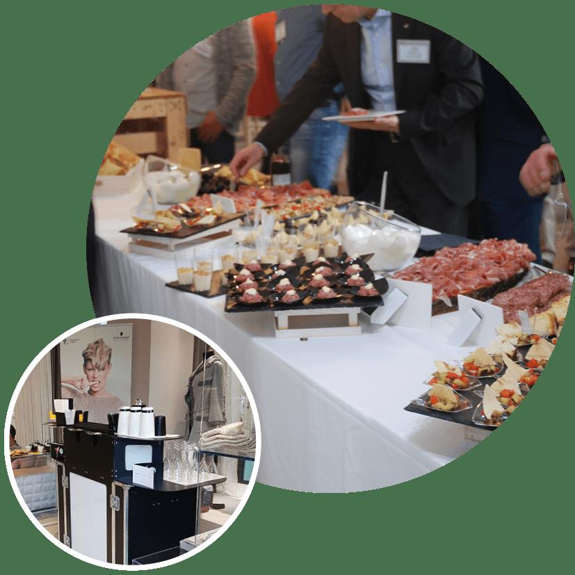 Servizio catering eventi aziendali